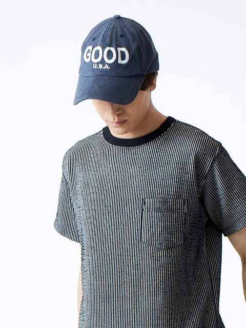 """""""GOOD ON"""" BIG EMBROIDERY HEAVY JERSEY LOW CAP [2018FW] / """"GOOD ON""""ビッグ刺繍ヘビージャージーローキャップ"""