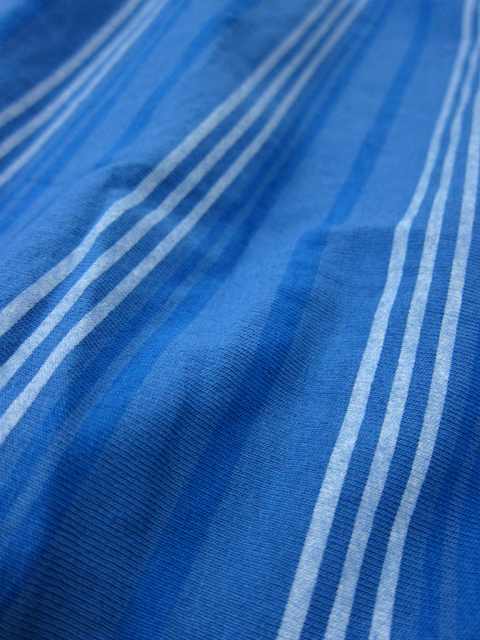 MULTI STRIPE TEE MAXI SKIRT [2017SPRING] / マルチストライプT-マキシスカート
