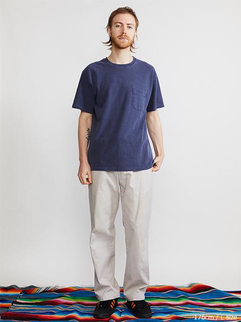 PIQUE S/S POCKET TEE / ピケショートスリーブポケットTシャツ