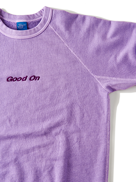 """""""Good On"""" EMBLEM L/S RAGLAN CREW SWEAT SHIRTS [2019SPRING] / """"Good On""""エンブレムラグランクルースウェットシャツ"""