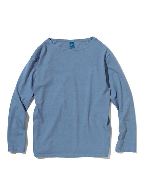MEN'S L/S BOAT NECK TEE / メンズロングスリーブボートネックTシャツ