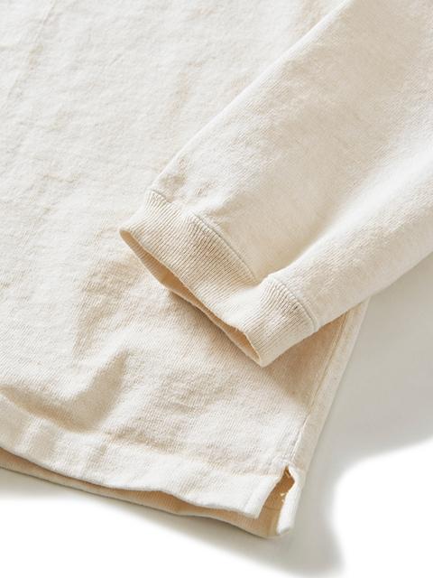 HEAVY JERSEY L/S CREW TEE [2021FW] / ヘビージャージーロングスリーブクルーTシャツ