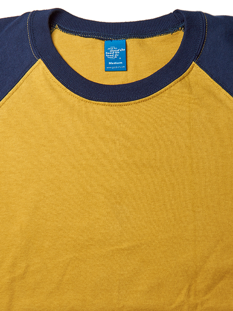 COMBI BASEBALL TEE / コンビベースボールTシャツ