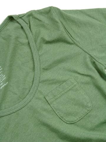 WOMEN'S S/S SCOOP NECK TEE [2016SS] / ウィメンズショートスリーブスクープネックTシャツ