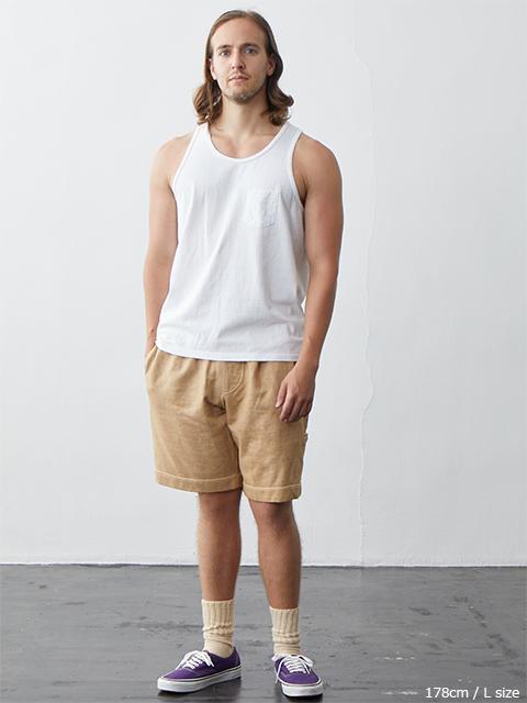POCKET TANK TOP / ポケットタンクトップ