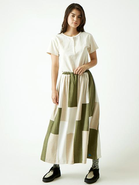 WOMEN'S 8 BUTTON HENLEY TEE [2019SS] / ウィメンズ8ボタンヘンリーTシャツ