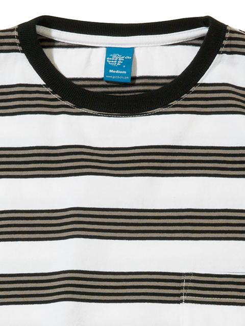 S/S HEAVY BORDER POCKET TEE [2019SS] / ショートスリーブヘビーボーダーポケットTシャツ