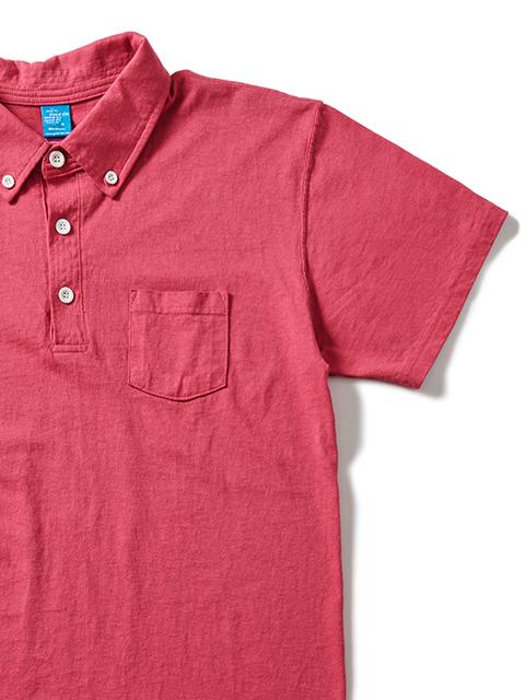 S/S POLO TEE / ショートスリーブポロTシャツ