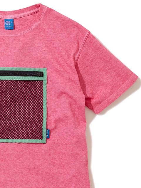 S/S MESH POCKET TEE / ショートスリーブメッシュポケットTシャツ