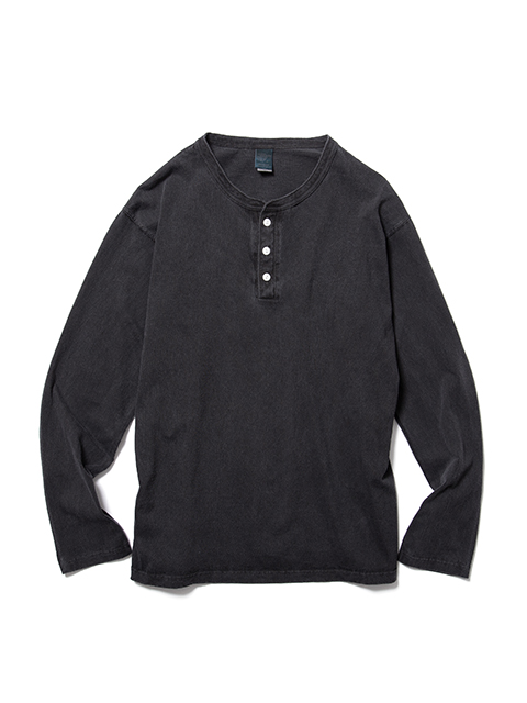 L/S HENLEY TEE / ロングスリーブヘンリーTシャツ