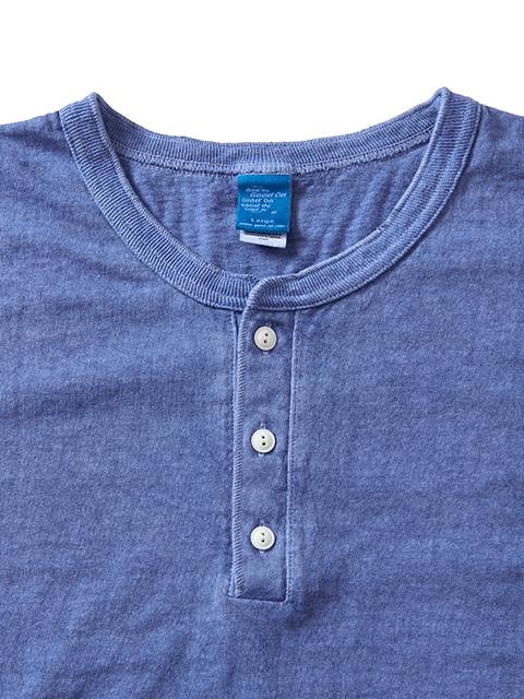 L/S HENLEY TEE [2021FW] / ロングスリーブヘンリーTシャツ