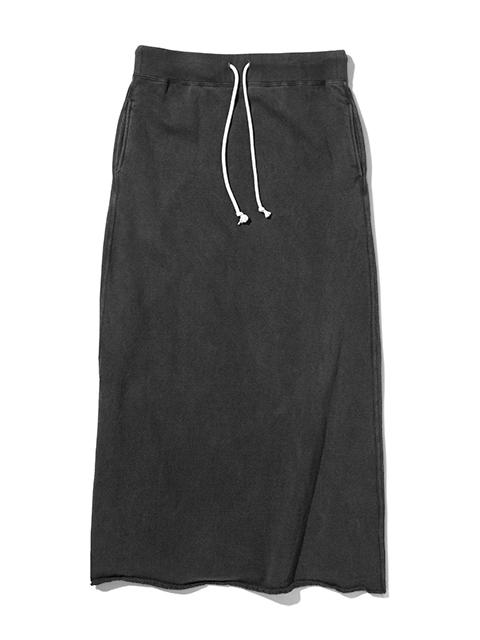 SWEAT MAXI SKIRT / スウェットマキシスカート