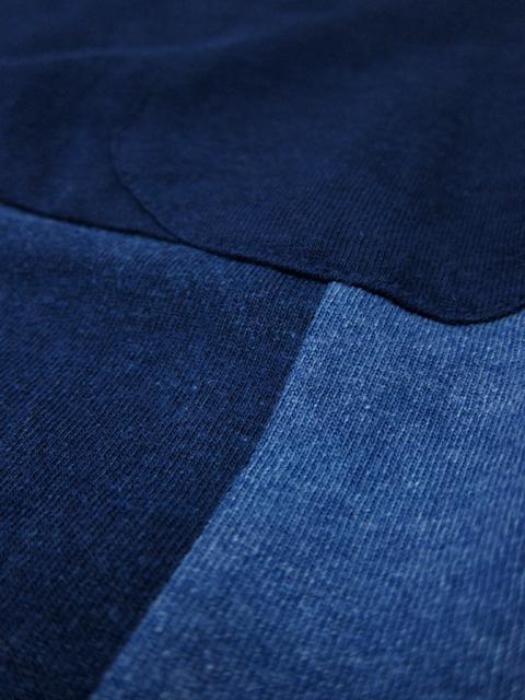 INDIGO MONDRIAN S/S POCKET TEE [2017SS] / インディゴモンドリアンショートスリーブポケットTシャツ