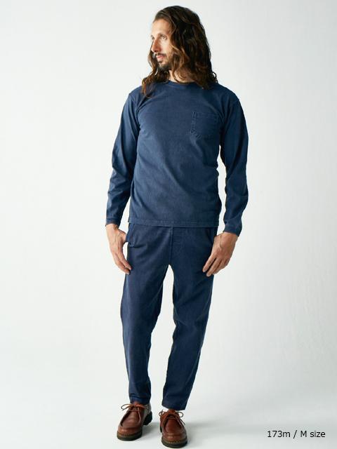 L/S POCKET CREW TEE / ロングスリーブポケットクルーTシャツ