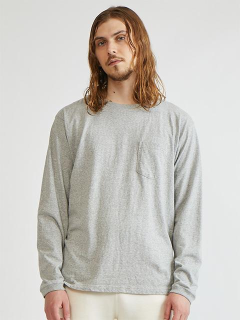 L/S POCKET CREW TEE [2021FW] / ロングスリーブポケットクルーTシャツ