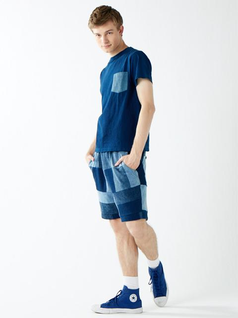 2 TONE INDIGO S/S POCKET TEE [2017SS] / 2トーンインディゴショートスリーブポケットTシャツ
