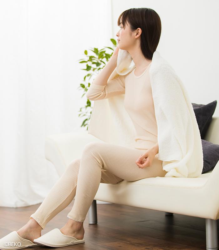 オーガニックコットン天衣無縫 スーピマリブ・ロングパンツ(メール便使用で送料無料!)