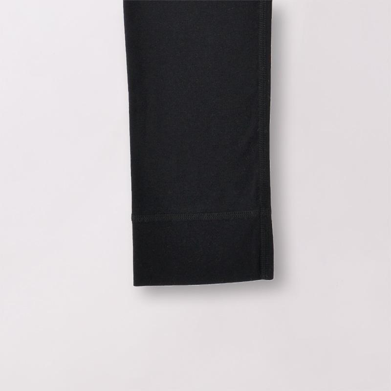 TAKEFU 竹布 NEW メンズ スパッツ ブラック(10分丈)前閉じ(メール便使用で送料無料!)