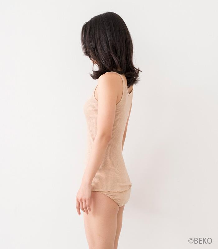 オーガニックコットン天衣無縫 婦人リブ ショーツ(メール便使用)