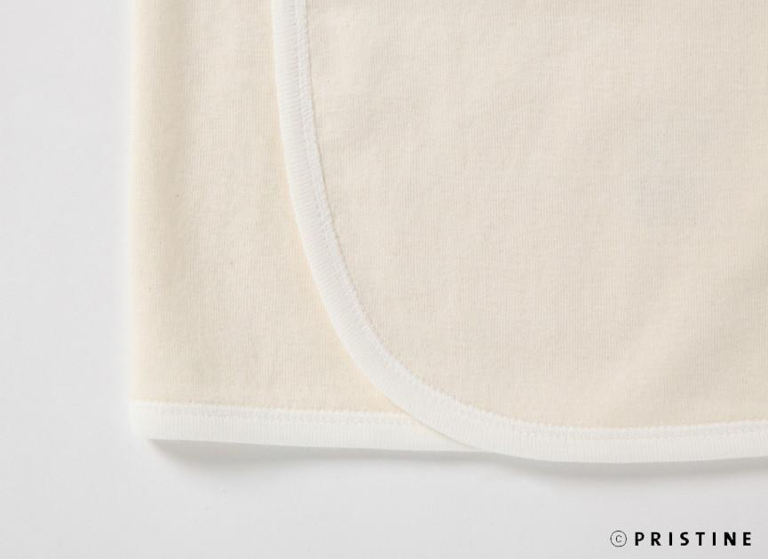 オーガニックコットン PRISTINE(プリスティン) 22世紀ベビー短肌着 (メール便使用)