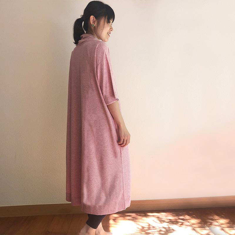 TAKEFU 竹布 癒布ワンピース (レディース)