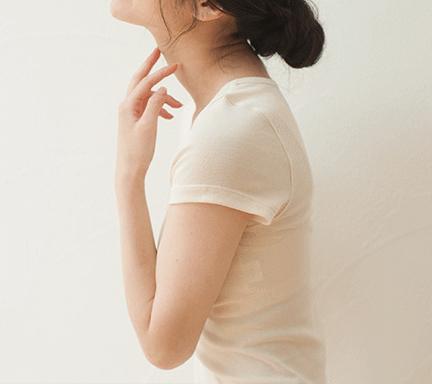 オーガニックコットン PRISTINE(プリスティン) セーターイン半袖(メール便使用で送料無料!)