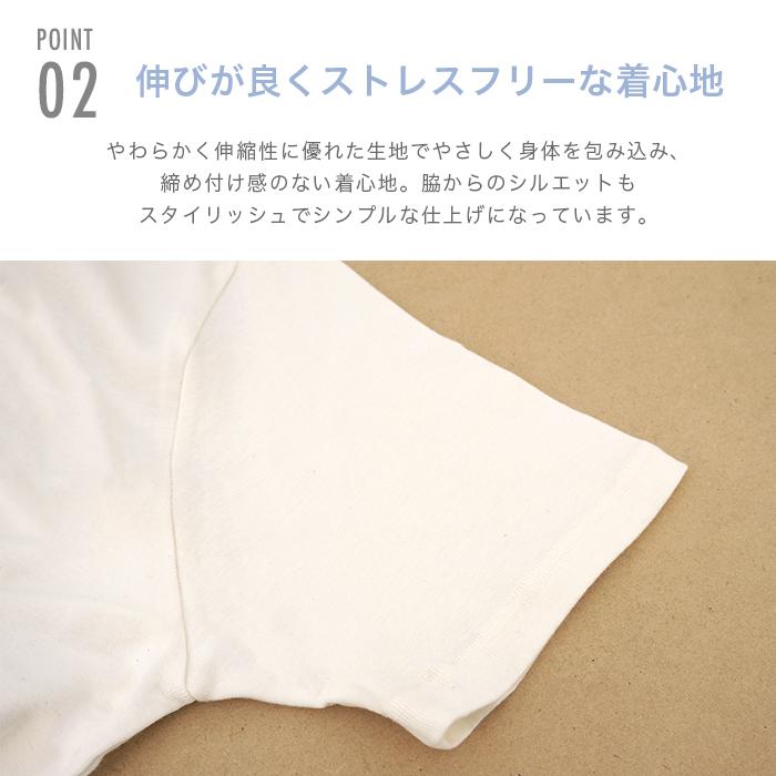 リーフキューブ・オーガニック メンズフライスV首シャツ101151(メール便使用で送料無料!)