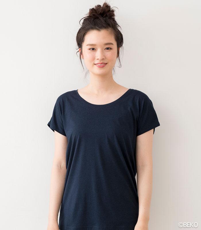 TAKEFU 竹布 フレンチスリーブTシャツ(レディース)(メール便使用で送料無料!)