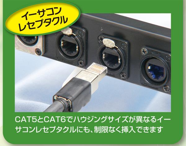 BELDEN ET-1303E-**/R CAT6A RJ45イーサネットパッチケーブル(リールセット)