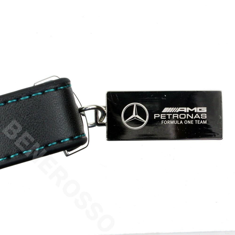 メルセデス AMG ペトロナス F1チーム レザー キーホルダー 701202228-001