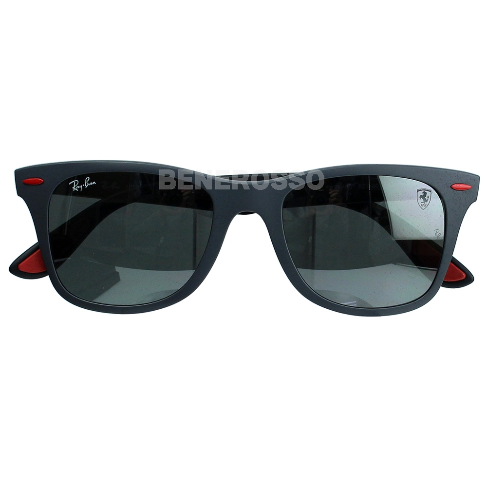 フェラーリ サングラス Ray-Ban 0RB 4195M マットグレイ【本店限定発売】