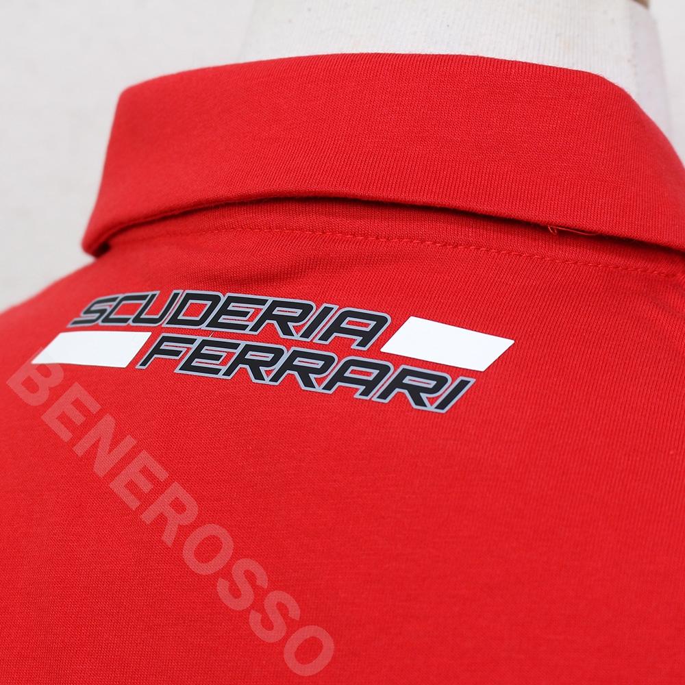 PUMA スクーデリア フェラーリ チーム ポロシャツ 2020 レッド 763032-01 【宅急便コンパクト対応】