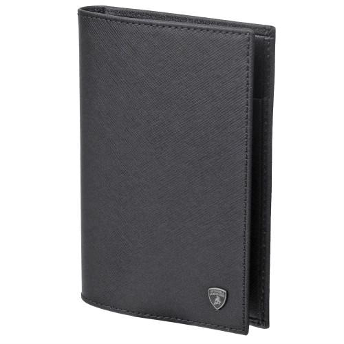 ランボルギーニ クラシック パスポート ホルダー ブラック 9009647LLB