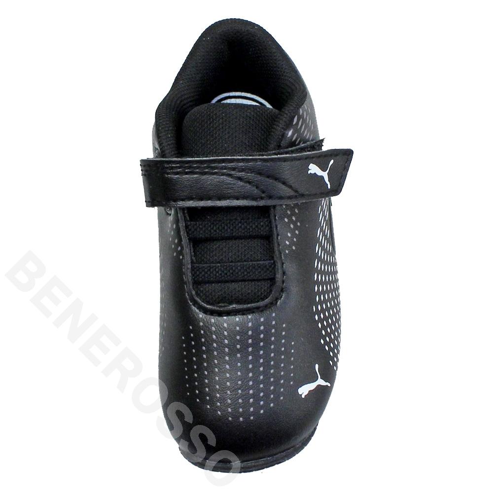 PUMA フェラーリ SF ドリフト キャット 5 ウルトラII ブラック(12〜16cm)キッズ 306463-01
