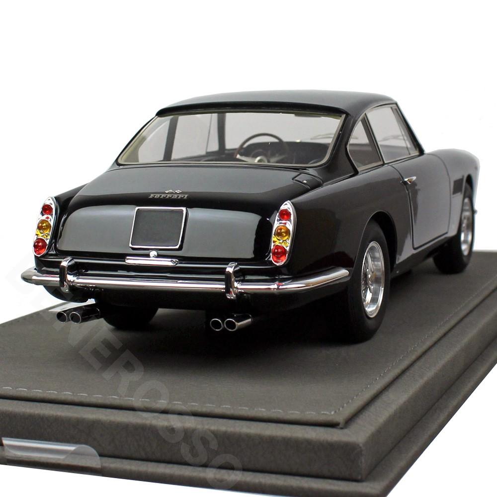 BBR MODELS 1/18スケール フェラーリ 250 GTE 2+2 I Series 1961 S/N 2999GT Black BBR1850BV