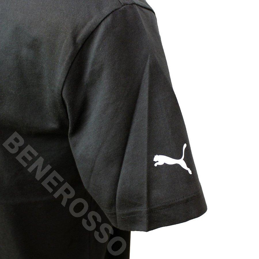 PUMA メルセデス AMG ペトロナス モータースポーツ MAPM ロゴ Tシャツ 2020 ブラック 596186-01 【宅急便コンパクト対応】