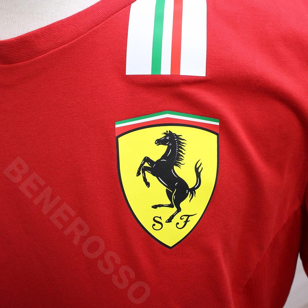 PUMA スクーデリア フェラーリ チーム Tシャツ 2021 レッド 763033-02