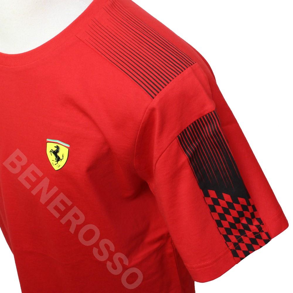 PUMA フェラーリ レース T7 Tシャツ 2021 レッド 531678-02