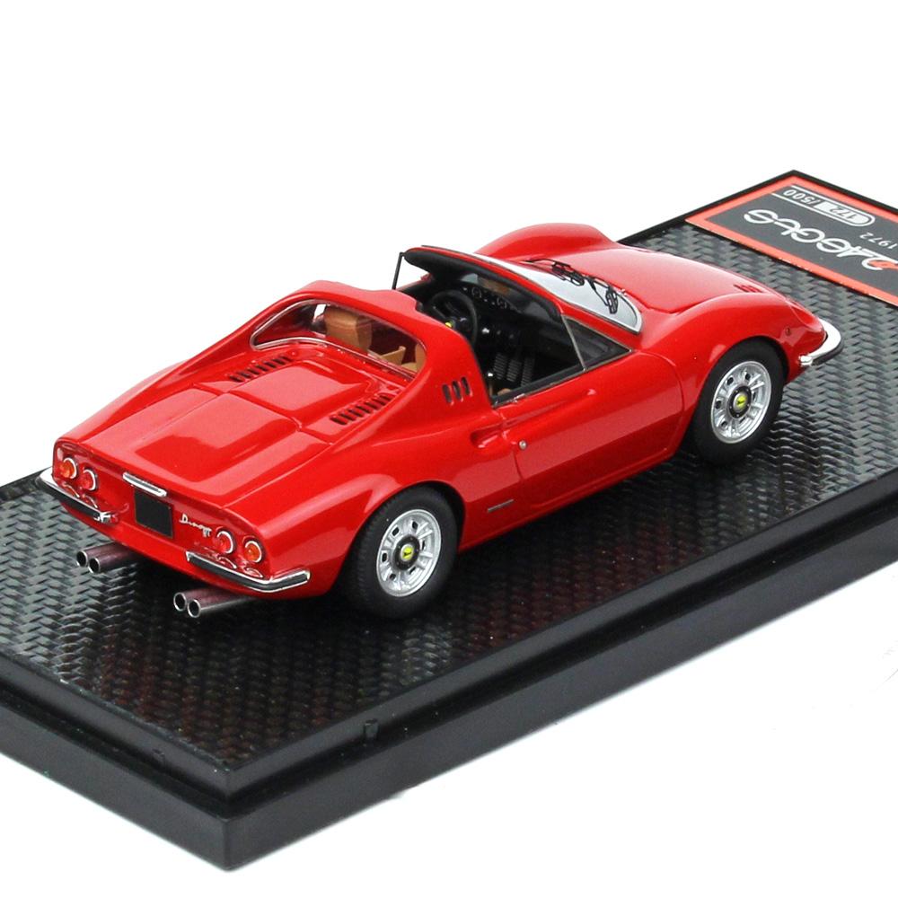 BBR MODELS 1/43スケール フェラーリ Dino 246 GTS 1972 Rosso Corsa BBRC054A
