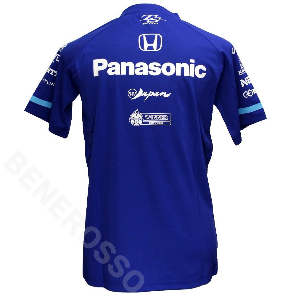 佐藤琢磨 TS ドライバー Tシャツ 2021 ブルー TS-2103