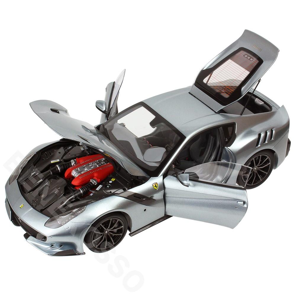 BBR MODELS 1/18 フェラーリ F12TDF 2015 GRIGIO TITANO (シルバー) PBBR182104
