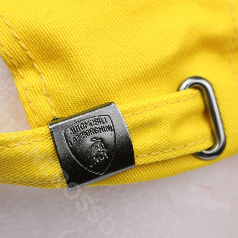 ランボルギーニ ベーシック シールド キャップ エンパイヤイエロー 9011320CCY034