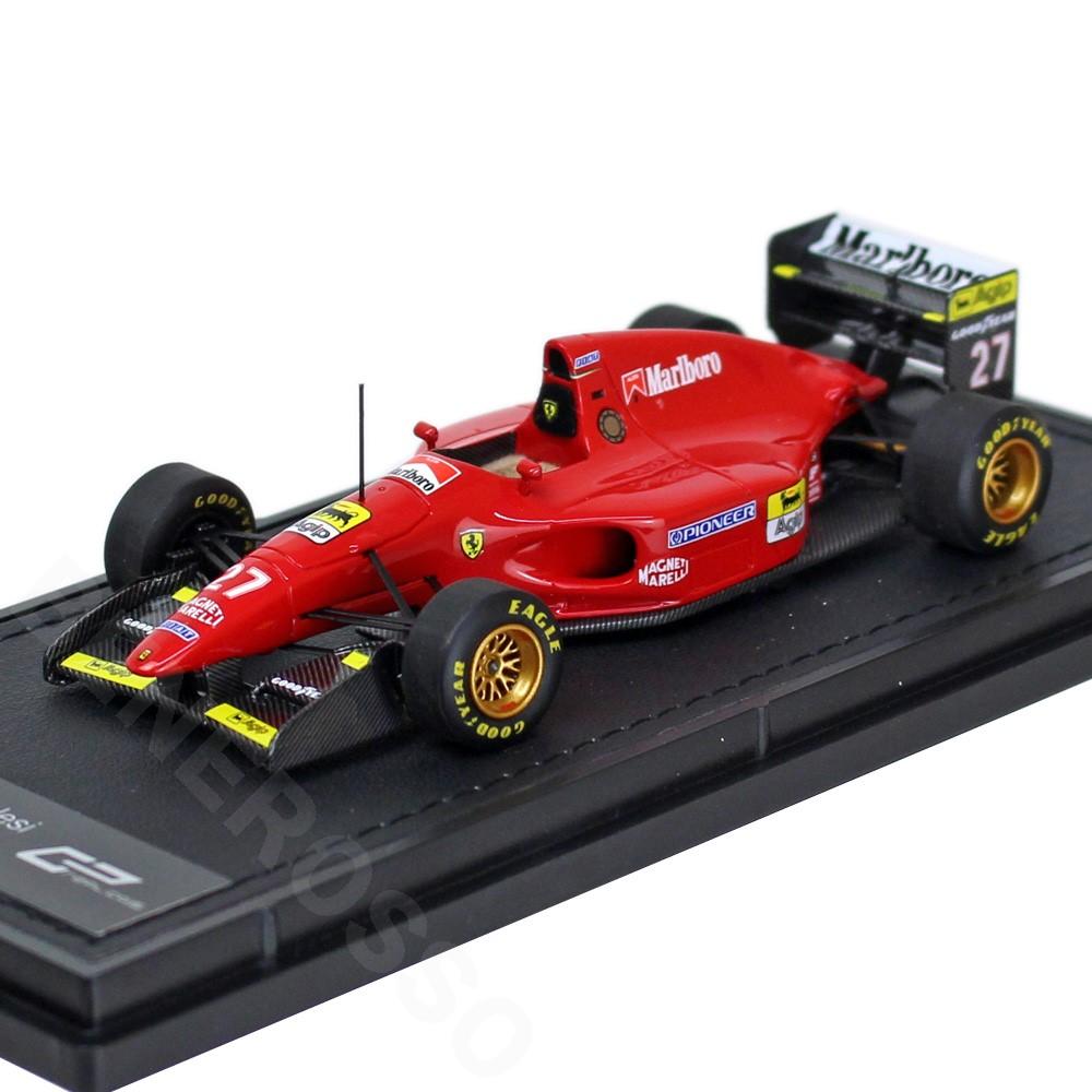 TOPMARQUES 1/43スケール フェラーリ 412 T1 #27 J.アレジ GRP43007A