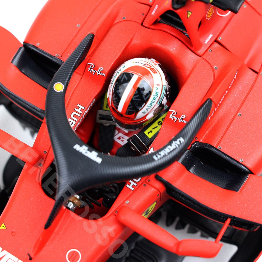 BBR MODELS 1/18スケール フェラーリ SF90 C.ルクレール 2019年 オーストラリアGP PBBR191816