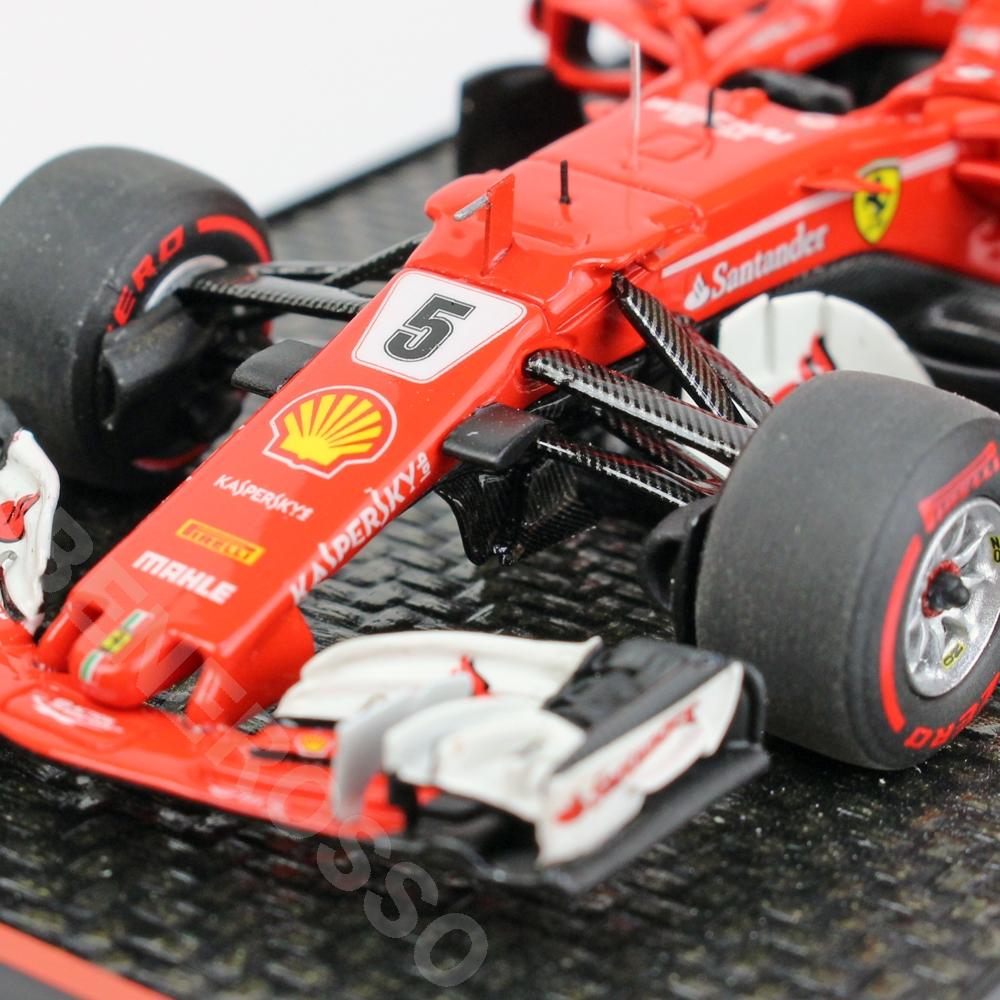 BBR MODELS 1/43スケール フェラーリ SF70-H ブラジルGP 2017 S.ベッテル BBRC211A