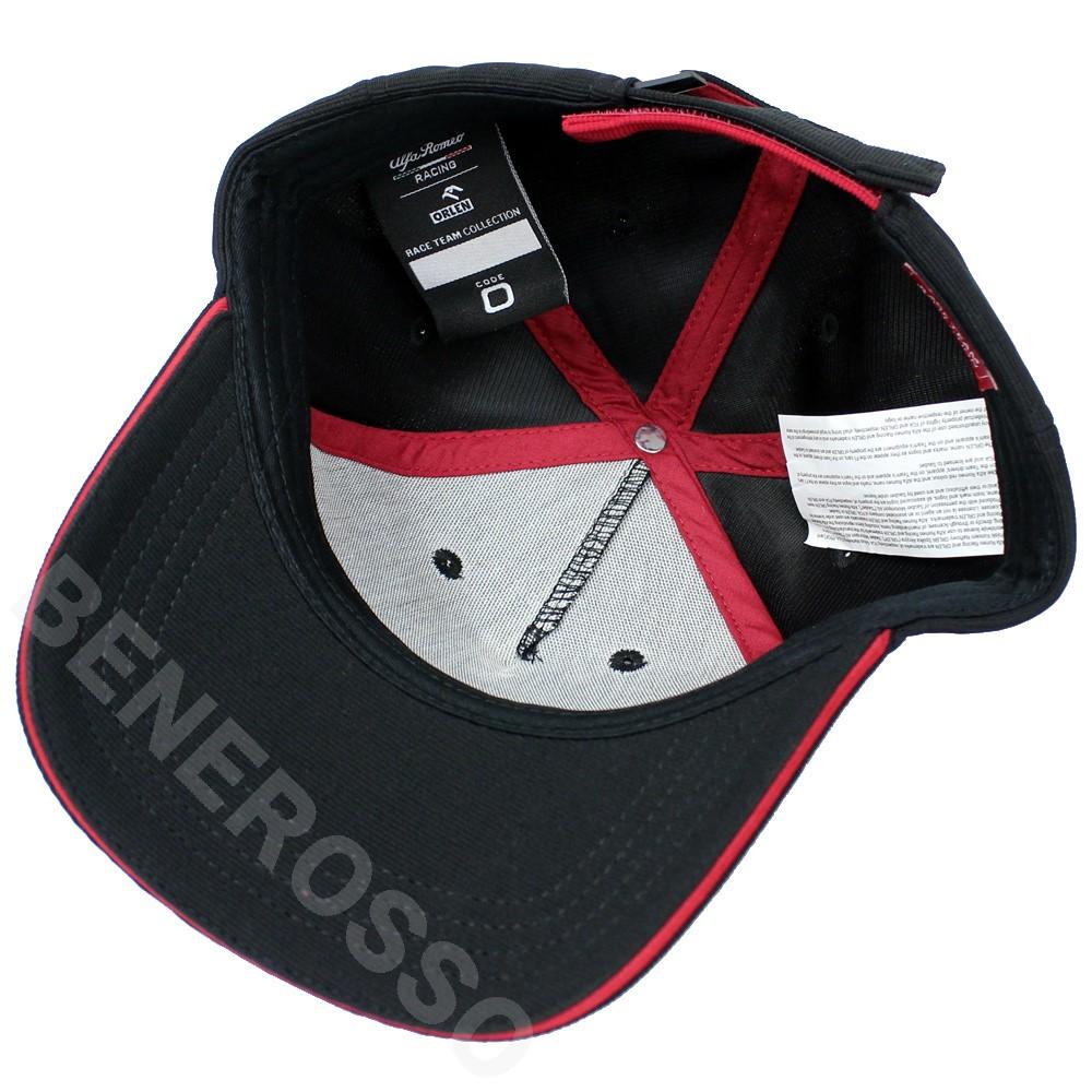 アルファロメオ レーシング オーレン チーム BBキャップ 2021 ブラック U90011413