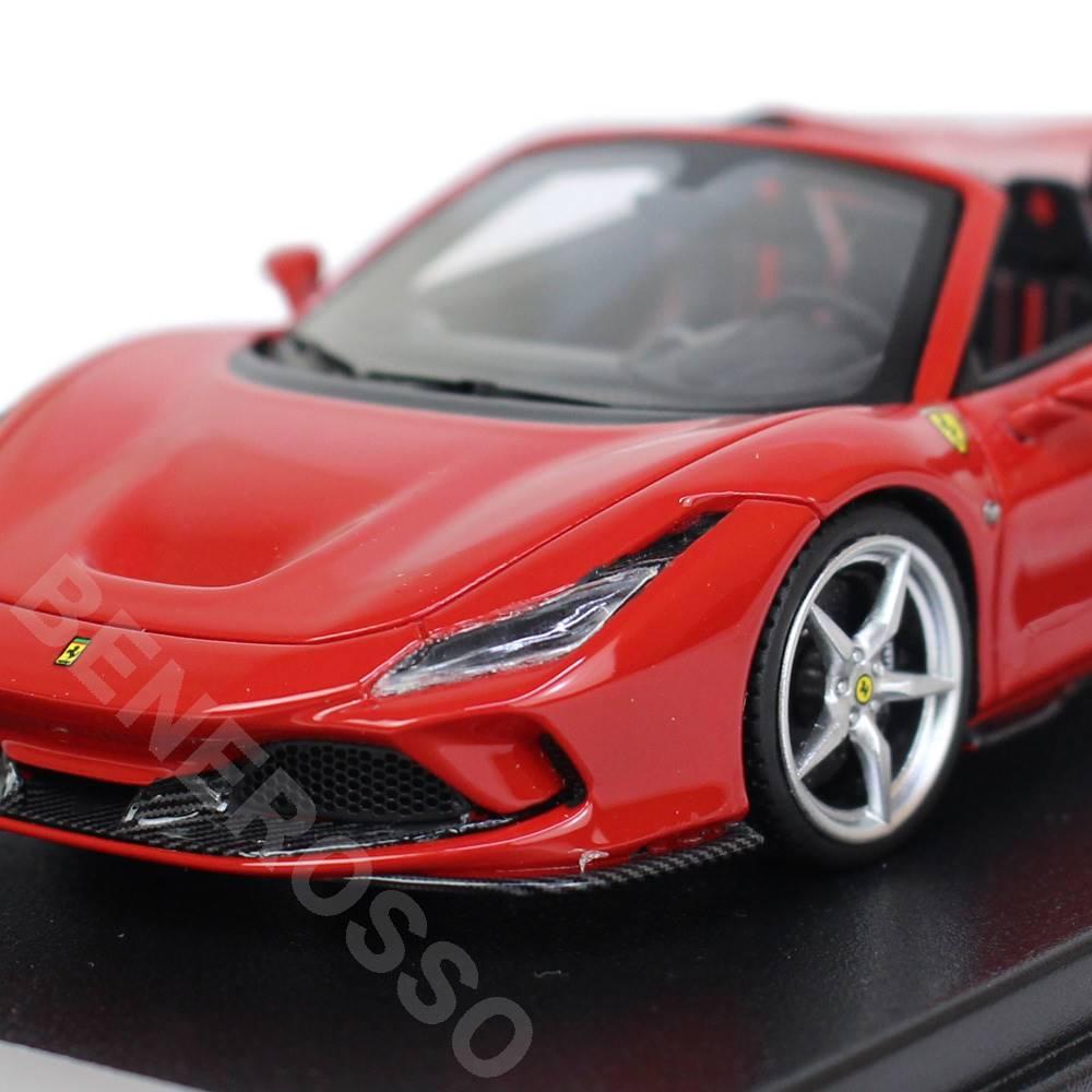 LookSmart 1/43スケール フェラーリF8 Spider Rosso Corsa LS511B