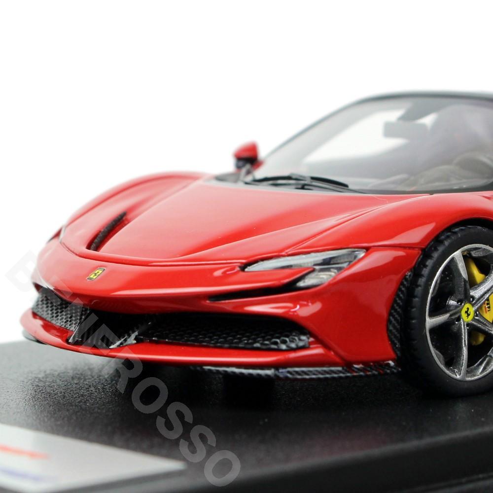 LookSmart 1/43スケール フェラーリ SF90 スパイダー Rosso Corsa LS522C