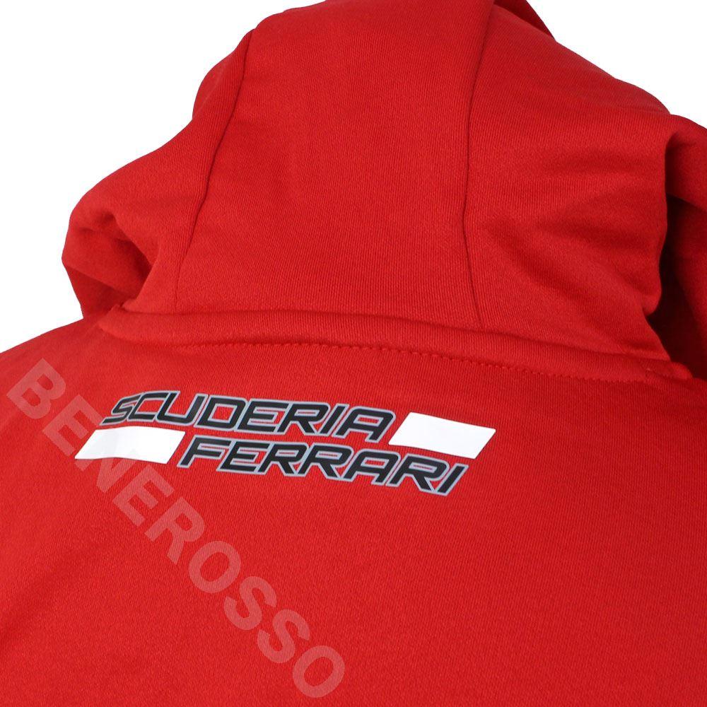 PUMA スクーデリア フェラーリ チーム テックフリース 2020 レッド 763035-01