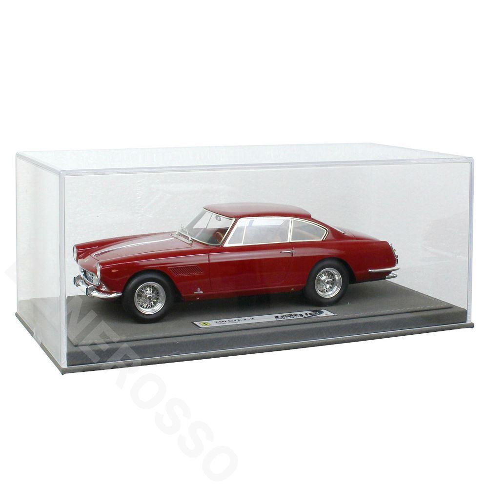 BBR MODELS 1/18スケール フェラーリ 250 GTE 2+2 I Series 1960 Rosso Barchetta BBR1850AV